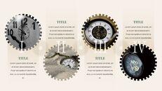 시계 프레젠테이션을 위한 구글슬라이드 템플릿_25