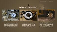 시계 프레젠테이션을 위한 구글슬라이드 템플릿_28