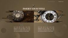 시계 프레젠테이션을 위한 구글슬라이드 템플릿_33