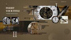 시계 프레젠테이션을 위한 구글슬라이드 템플릿_35