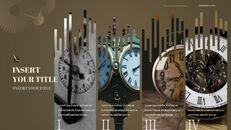 시계 프레젠테이션을 위한 구글슬라이드 템플릿_37