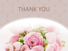 Bouquet of Flowers As a Present - Free PPT Sample_06