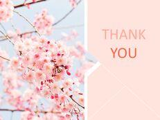 Cherry Blossom Ending - Free Presentation Templates_06