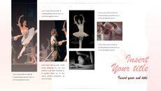 발레 프레젠테이션 PowerPoint 템플릿 디자인_30