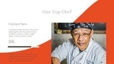 훌륭한 요리(퀴진) PowerPoint 프레젠테이션 템플릿_05