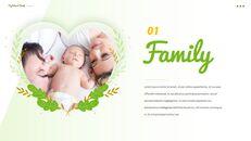 사랑하는 가족 테마 프레젠테이션용 PowerPoint 템플릿_05