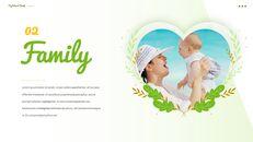 사랑하는 가족 테마 프레젠테이션용 PowerPoint 템플릿_06