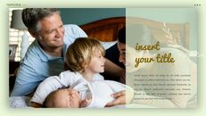 사랑하는 가족 테마 프레젠테이션용 PowerPoint 템플릿_25