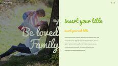 사랑하는 가족 테마 프레젠테이션용 PowerPoint 템플릿_32