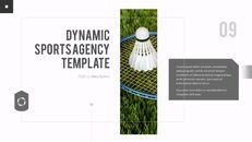 다이나믹 스포츠 에이전시 프레젠테이션용 PowerPoint 템플릿_09