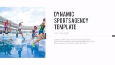 다이나믹 스포츠 에이전시 프레젠테이션용 PowerPoint 템플릿_10