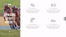 다이나믹 스포츠 에이전시 프레젠테이션용 PowerPoint 템플릿_23