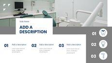 현대 치과 의원 구글슬라이드 템플릿 디자인_12