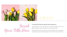 봄 꽃 프레젠테이션 PowerPoint 템플릿 디자인_03