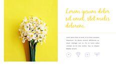 봄 꽃 프레젠테이션 PowerPoint 템플릿 디자인_04