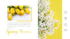 봄 꽃 프레젠테이션 PowerPoint 템플릿 디자인_06
