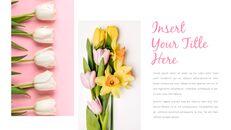 봄 꽃 프레젠테이션 PowerPoint 템플릿 디자인_09