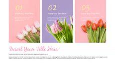 봄 꽃 프레젠테이션 PowerPoint 템플릿 디자인_15