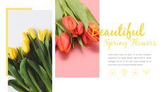 봄 꽃 프레젠테이션 PowerPoint 템플릿 디자인_20