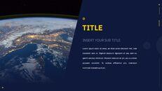우주 심플한 Google 슬라이드 템플릿_05