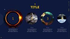 우주 심플한 Google 슬라이드 템플릿_18