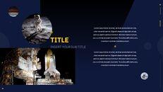 우주 심플한 Google 슬라이드 템플릿_26