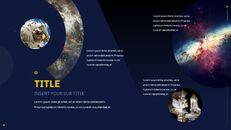 우주 심플한 Google 슬라이드 템플릿_28