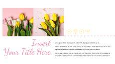 봄 꽃 구글슬라이드 템플릿_03
