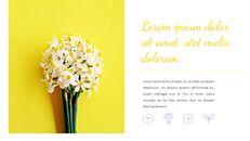 봄 꽃 구글슬라이드 템플릿_04