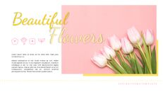 봄 꽃 구글슬라이드 템플릿_05
