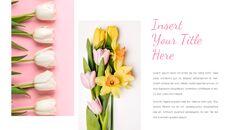 봄 꽃 구글슬라이드 템플릿_09