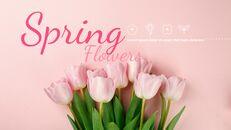 봄 꽃 구글슬라이드 템플릿_14
