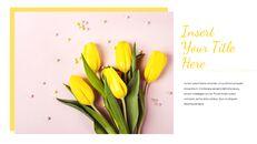 봄 꽃 구글슬라이드 템플릿_16