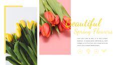 봄 꽃 구글슬라이드 템플릿_20