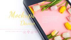 봄 꽃 구글슬라이드 템플릿_21