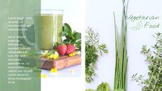 채식주의자 프레젠테이션용 Google 슬라이드 테마_23