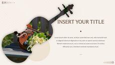 바이올린과 첼로 Google 슬라이드 프레젠테이션 템플릿_19