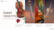 바이올린과 첼로 Google 슬라이드 프레젠테이션 템플릿_28