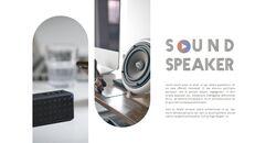 음향 장치 편집이 쉬운 파워포인트 디자인_06