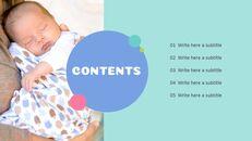 사랑스러운 아기 편집이 쉬운 프레젠테이션 템플릿_03