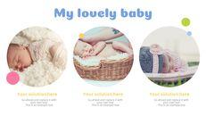 사랑스러운 아기 편집이 쉬운 프레젠테이션 템플릿_04