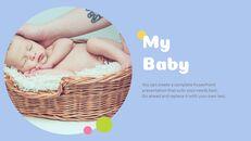사랑스러운 아기 편집이 쉬운 프레젠테이션 템플릿_06