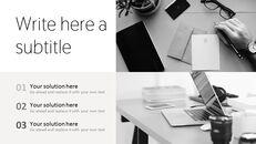 업무용 책상 심플한 프레젠테이션 Google 슬라이드 템플릿_06