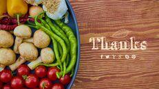 유기농 식품 심플한 파워포인트 템플릿 디자인_09