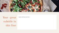피자 & 햄버거 편집이 쉬운 PPT 템플릿_08