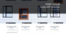 부동산 (주택 및 부동산) 편집이 쉬운 프레젠테이션 템플릿_05