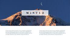 겨울 여행 심플한 파워포인트 템플릿_04