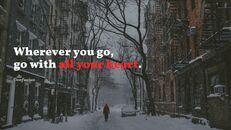 겨울 여행 심플한 파워포인트 템플릿_08