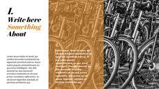 자전거 심플한 Google 슬라이드 템플릿_03