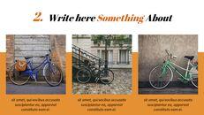 자전거 심플한 Google 슬라이드 템플릿_04